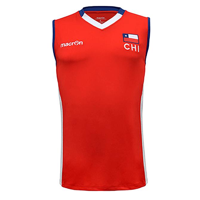 Camiseta Selección Voleibol Hombre Chile Macron - Image 2