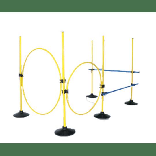 Set Multi-Actividades Fisicas (6 Bases, 12 Palos, 12 Clips)
