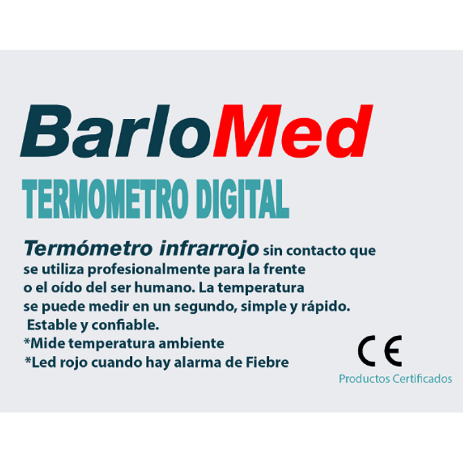 Termómetro Digital Infrarojo Sin Contacto - Image 2