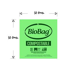 Kit de 20 Bolsas BioBag 50x50 cms