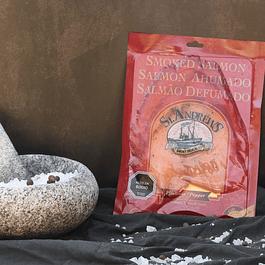 Salmón Ahumado en Frío Slice 100 grs. a la Pimienta