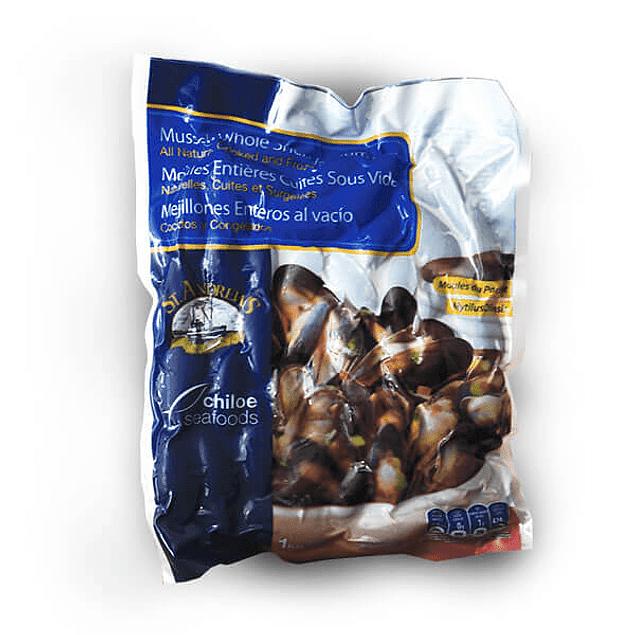 Pack 3x Chorito (Mejillón) Entero Natural 1/2 Kg