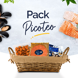 Pack Picoteo - Salmón Ahumado + Choritos