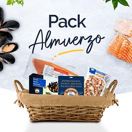 Pack Almuerzo - Filete Salmón + Choritos + Salmón Ahumado