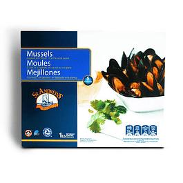Chorito entero con salsa - Vino Blanco 1/2 Kg