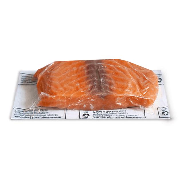Salmón natural congelado - Porción individual sin piel