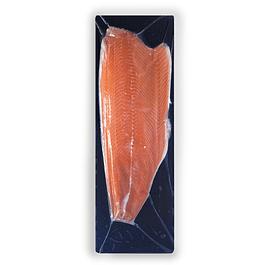 Filete de Salmón Atlántico Natural con Piel - Trim D - entre 1,401 y 1,500 kg aprox.