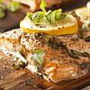 Filete de Salmón Atlántico Natural con Piel - Trim D
