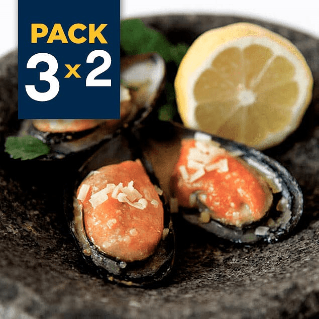 Pack 3x2 - Chorito (Mejillón) Media Concha 1 Kg