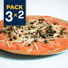 Pack 3x2 - Salmón Ahumado en Frío Party Plate Slice 350 grs (Carpaccio)