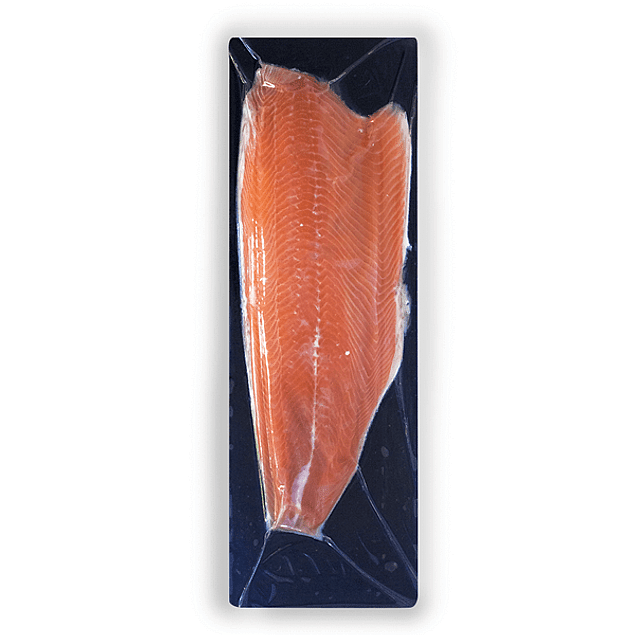Filete de Salmón Atlántico Natural con Piel - Trim D - entre 1,501 y 1,600 kg aprox.