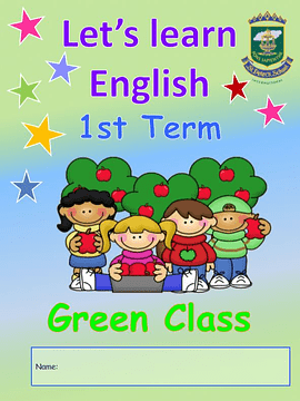 3 Anos My First English Book Green Room 1st Term
