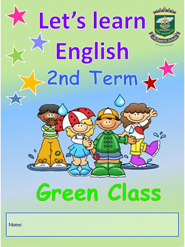 3 Anos My First English Book Green Room 2nd Term