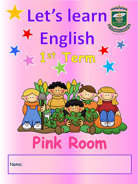 5 Anos Let´s Learn English Pink Room 1st Term