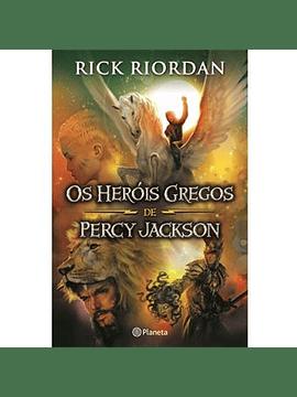 Os Heróis Gregos de Percy Jackson de Rick Riordan
