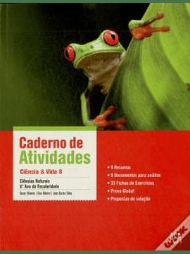 Ciência & Vida 8 - Caderno de atividades