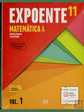 Expoente Mat 11.º Manual do Aluno