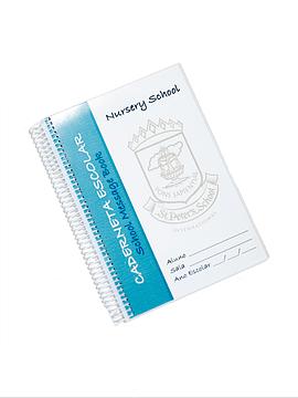 Caderneta Escolar Berçário (Mod. Interno)