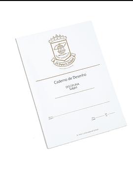 Caderno A4  Desenho (Mod. Interno)