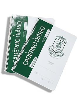 Caderno Espiral Quadriculado A4 (Mod. Interno)