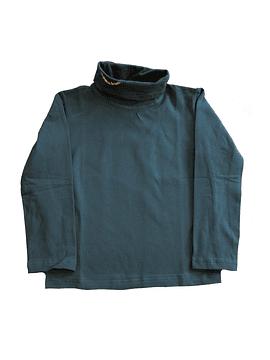 Camisola de Gola Alta Verde