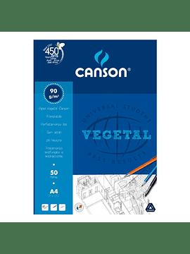 Bloco de papel vegetal CANSON 90g A3