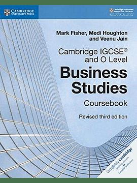 Cambridge IGCSE and O Level Business Studies Coursebook