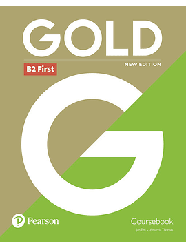 Gold B2 First New Edition Coursebook