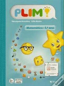 Plim- Matemática 1.º Ano - Manual do aluno