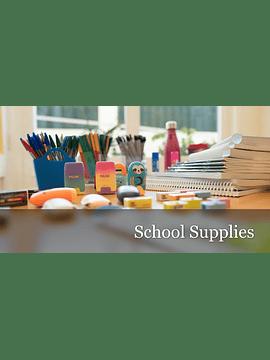 Conjunto de Material Escolar - Berçário