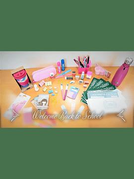 Conjunto de Material Escolar - 1.º Ciclo - 1.º ano