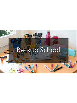 Conjunto de Material Escolar - 1.º Ciclo - 2.º ano