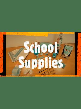 Conjunto de Material Escolar - 1.º Ciclo - 4.º ano