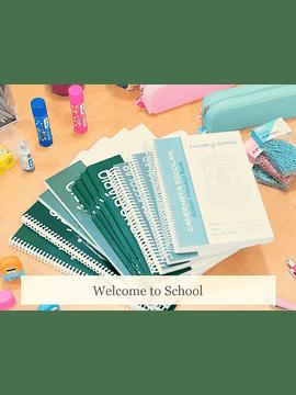 Conjunto de Material Escolar - Jardim de Infância - 5 anos