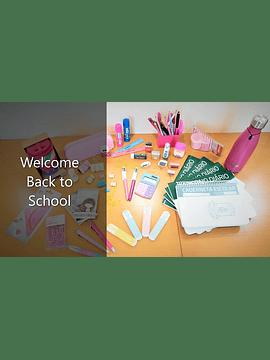 Conjunto de Material Escolar - Jardim de Infância - 4 anos