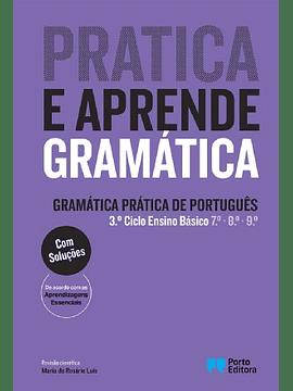 """""""Pratica e aprende gramática Gramática Prática de Português 3.º Ciclo do Ensino Básico"""""""