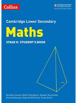 Collins Cambridge Lower Secondary Maths - Lower Secondary Maths Student's Book: Stage 9