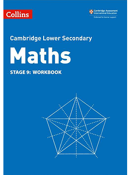 Collins Cambridge Lower Secondary Maths - Lower Secondary Maths Workbook: Stage 9