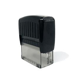 Timbre Automatico de escritorio 4,6x1,9 cm