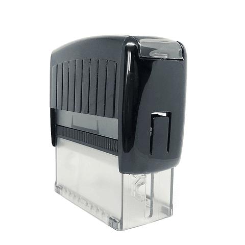 Timbre Automatico de escritorio 5,7x2,2 cm