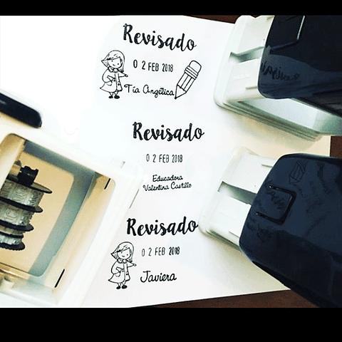 FECHERO REVISADO AUT. CON DISEÑO 4,7 X 3 CM