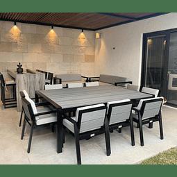 Mesa Dinning Cabo 10-12 Personas