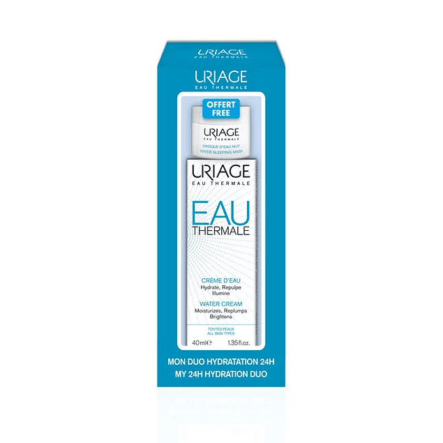 EAU THERMALE Crema de Agua 40 ml + regalo