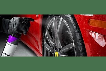 Como descontaminar un automóvil protegido con un revestimiento cerámico?