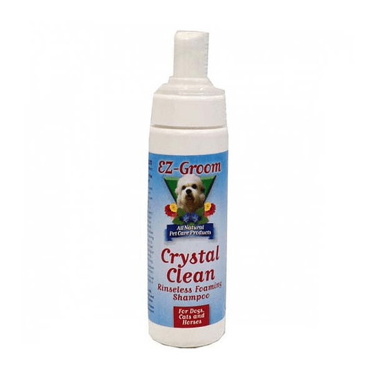 Crystal Clean - Shampoo sin enjuague