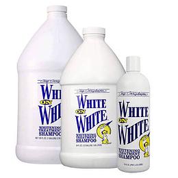 White on White Shampoo