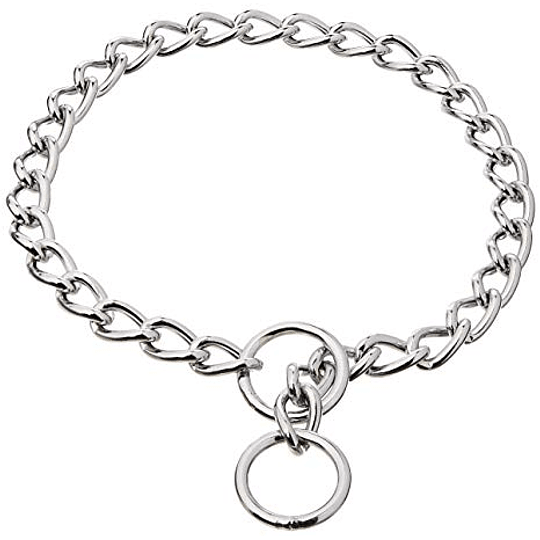 Collar cadena metálica