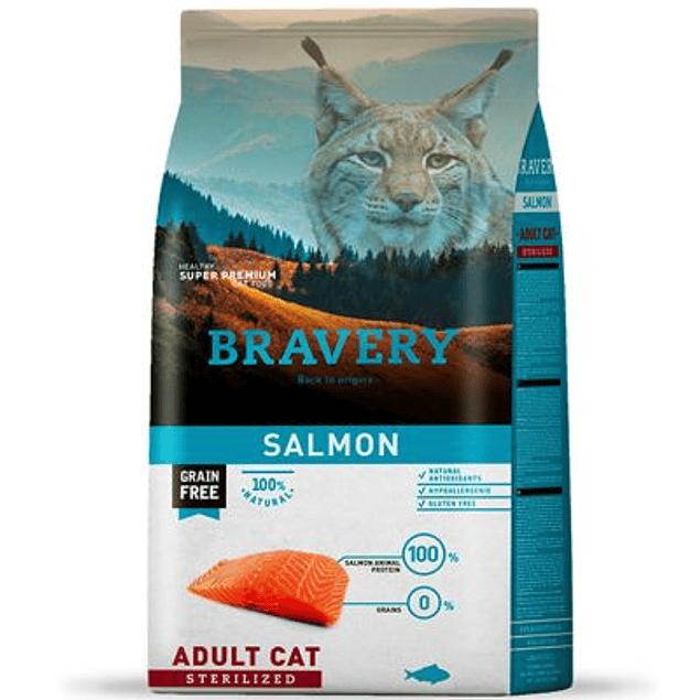 BRAVERY SALMON ADULT CAT STERILIZED 2KG
