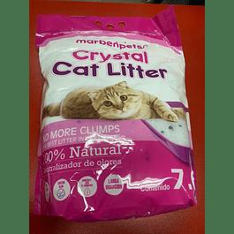Arena para gato Marbenpets CRYSTAL CAT LITTER 7,6L