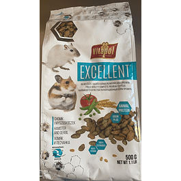 alimento hamster y gerbos 500gr vitapol